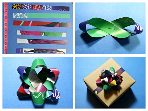 Recycled Gift Bow
