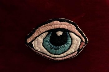 Stitched eye